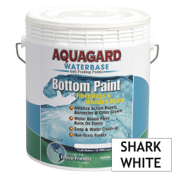 Aquagard Waterbased Anti-Fouling Bottom Paint - Gallon - Shark White