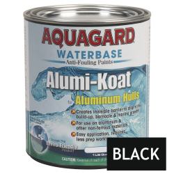Aquagard II Alumi-Koat Anti-Fouling Waterbased - Quart - Black
