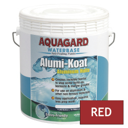Aquagard II Alumi-Koat Anti-Fouling Waterbased - Gallon - Red