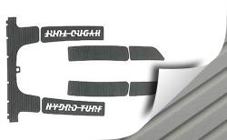 Kawasaki 750SS, 750XI, 750XIR PWC Cut Groove Mat Kit 3M Backing - Hydro-Turf