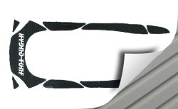 SeaDoo GTI 2006-2008 PWC Cut Groove Mat Kit 3M Backing - Hydro-Turf