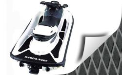 Polaris Genesis PWC Molded Diamond Mat Kit 3M Backing - Hydro-Turf