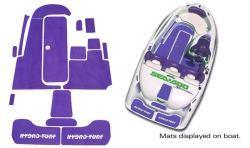 SeaDoo Speedster 1994-1995 Jet Boat Cut Groove Mat Kit - Hydro-Turf