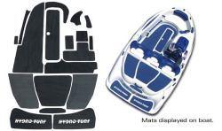 SeaDoo Speedster 1996, Sportster 1996-1999 Jet Boat Cut Groove Mat Kit - Hydro-Turf