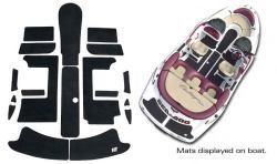 SeaDoo Challenger 1800 1997-2004 Jet Boat Cut Groove Mat Kit - Hydro-Turf
