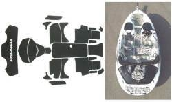 SeaDoo Speedster 2000-2003, Speedster 160 2004 Jet Boat Cut Diamond Mat Kit - Hydro-Turf