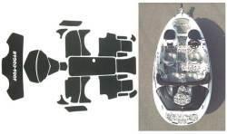 SeaDoo Speedster 2000-2003, Speedster 160 2004 Jet Boat Cut Groove Mat Kit - Hydro-Turf