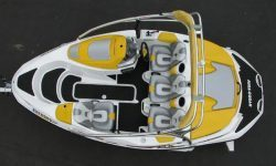 SeaDoo Sportster 4-TEC 2003-2005, Sportster SCIC 2005-2006, 150 Speedster 2007-2008 Jet Boat Molded Diamond Mat Kit - Hydro-Turf