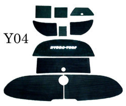Yamaha SR230 & SX230 & AR230 2005-2006 Jet Boat Molded Diamond Mat Kit - Hydro-Turf