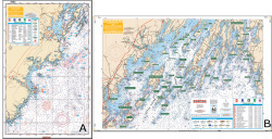 Casco Bay To Saco Bay Maine - Waterproof Charts