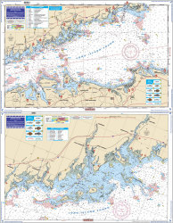Central Long Island Sound Coastal Fishing - Waterproof Charts