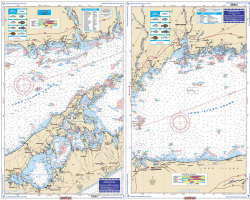 Eastern Long Island Sound Coastal Fishing - Waterproof Charts