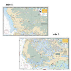 Whitewater Bay / Everglades - Waterproof Charts