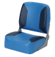 790 Fisherman Fold Down Seat, Light Blue-Navy - Garelick