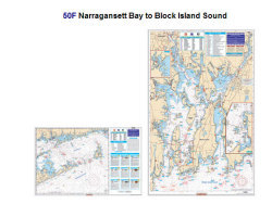 Narragansett Bay To Block Island Sound - Waterproof Charts