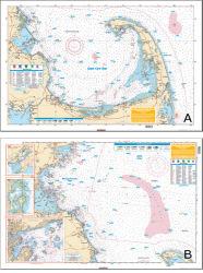 Cape Cod Bay & Mass. Bay - Waterproof Charts