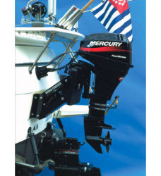Hydra Powered Assisted Up to 25 HP Outboard Motor Bracket - Garelick
