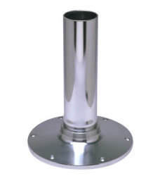 "9"" Fixed Height Smooth Pedestal - Garelick"