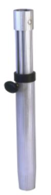 "Gas Rise Adjustable Stanchion 19""-29"" Salon Table Pedestal System - Garelick"
