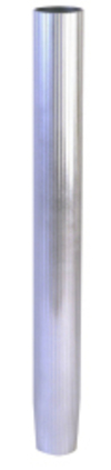 28 in Fixed Height Fluted Taper Stanchion Post - Garelick