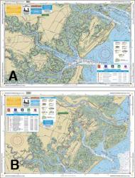 Savannah To St. Catherine's Sound - Waterproof Charts