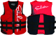 Kent Men's Neoprene Flex Fit Vest - Red/Black
