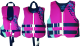 Kent Kids Neoprene Traditional QDT Vest - Pink/Lotus Pink