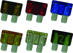 ATO or ATC Marine Fuse, 1A, (2) - Blue Sea Systems