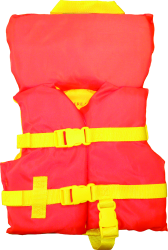 Revere Infant Vest, 0-50 lbs., Orange/Yellow