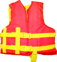 Revere Child Vest, 30-50 lbs., Orange/Yellow