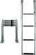 Stainless Steel Ladder, 4-Step - Seasense