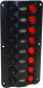 8-Gang LED Switch Panel, Wave - Seasense