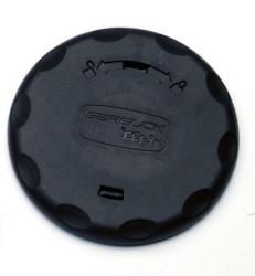 Table Pedestal Deck Ring Cover, Black - Garelick