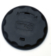 Table Pedestal Deck Ring Cover, Black - Garelick