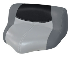 Blast-Off Tour Series Pro Casting Seat Pro-Lean Design, Charcoal-Gray-Black - Wise Boat Seats