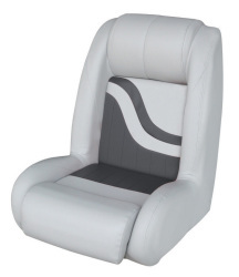 Bucket Seat Weekender Series, Gray-Charcoal - Wise Boat Seats