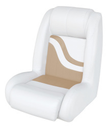 Bucket Seat Weekender Series, White-Sand - Wise Boat Seats