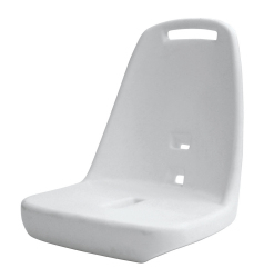Standard Pilot Seat 013 Roto Molded Shell Only - Wise Boat Seats