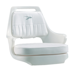 Standard Pilot Chair 015 with Cushions and Mounting Plate - Wise Boat Seats