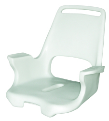 Captain Chair 1007 Roto Molded Seat Shell Only - Wise Boat Seats
