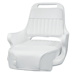 Ladder Back Pilot Chair 1095 with Cushions and Mounting Plate - Wise Boat Seats