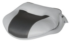Pro-Verzion Tour Casting Seat, Gray-Charcoal - Wise Boat Seats