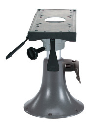 Adjustable Height Aluminum Seat Pedestal with Fore & Aft Slide - Wise Boat Seats