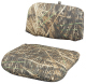 Replacement 2 Piece Snap-On Cushion Set, Mossy Oak Shadow Grass - Wise Boat Seats