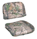 Replacement 2 Piece Snap-On Cushion Set, Camouflage Advantage Max 4 - Wise Boat Seats