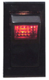 Illuminated Rocker Switch, ON-OFF-SPST - MarineWorks