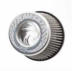 "2.5"" Silver Tornado Flame Arrestor Filter - Tau Ceti"