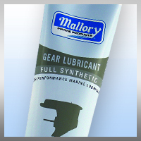 10 Oz Tube Synthetic Gear Lube for Mercury - Mallory