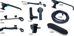 Exterior Latching Handles (1994-Present) - Taylor Made