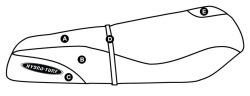 Part E - Kawasaki ST, STS, STX 750 & 900 Pre 1999 PWC Seat Cover - Hydro-Turf